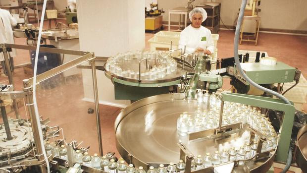 Instalaciones de los Laboratorios Ovejero en León