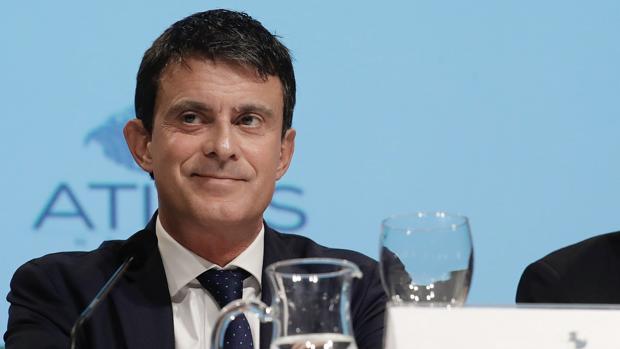 El candidato de Ciudadanos a la alcaldía de Barcelona, Manuel Valls