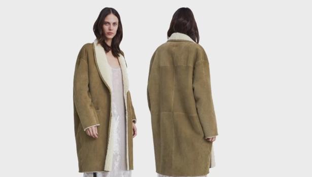5df85b0b7b0 Galicia Abrigo de piel de cordero de Zara