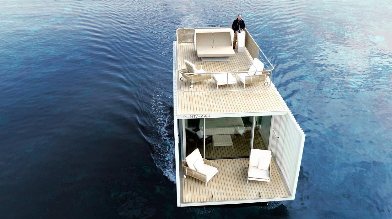 Arquitectos valencianos crean la primera casa flotante respetuosa con el medio ambiente