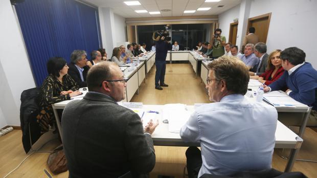 Reunión de la última junta directiva del PPdeG