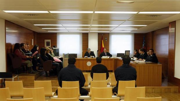 Imagen de archivo de un juicio en la Audiencia de Castellón