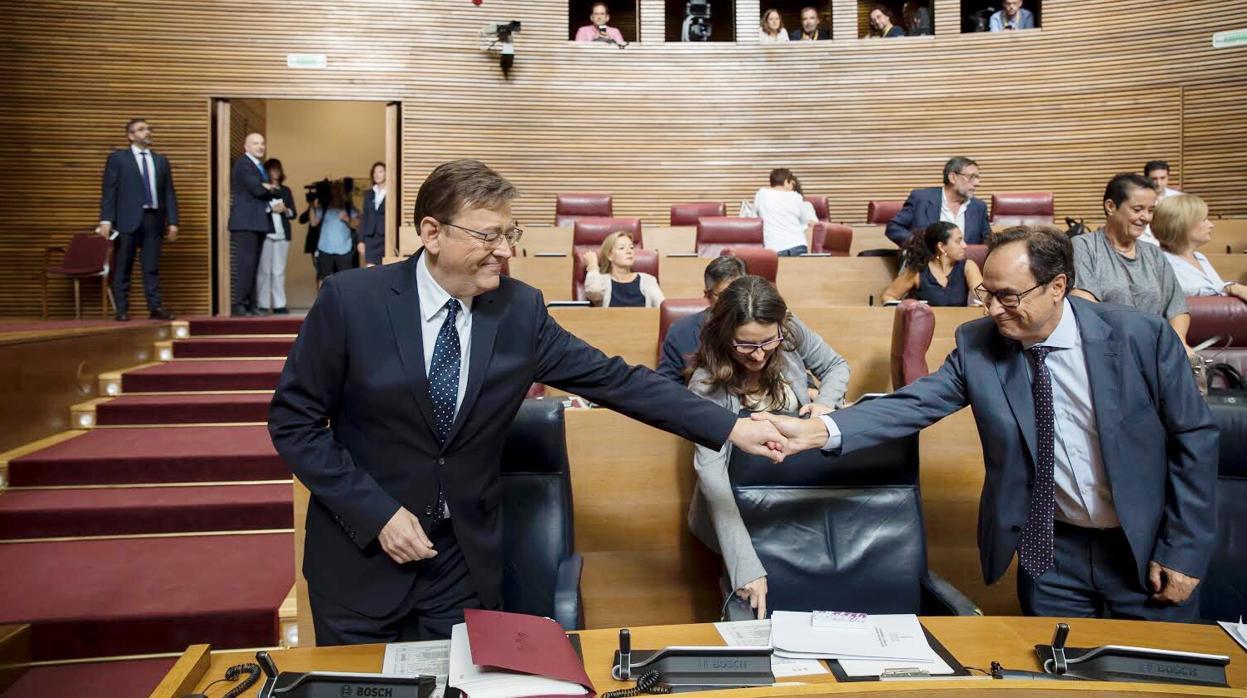 PSPV y Compromís contentan a Podemos con la Agencia Antifraude pero descartan sus tasas