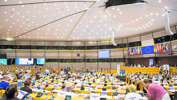 Pleno del Comité de las Regiones, en una imagen de archivo