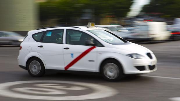 Un taxi en Madrid, en una imagen de archivo