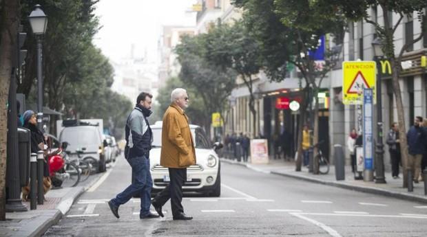 El tramo de la calle de Fuencarral que se peatonalizará