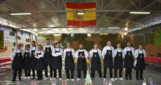 Cocineros canarios del Mando de Canarias triunfan en un concurso en Zaragoza
