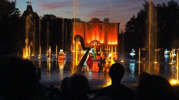 Espectáculo nocturno de Puy du Fou en Francia