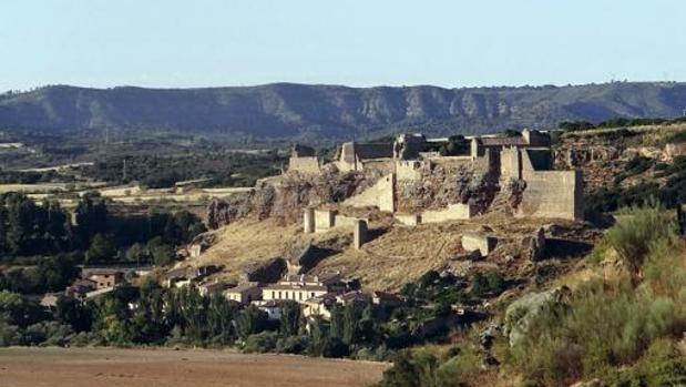 Vista panorámica de Recópolis, antigua ciudad visigoda en Zorita de los Canes