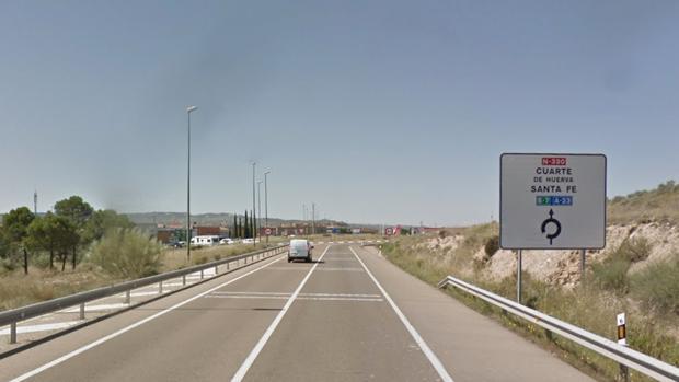 Un joven de 26 años muere en Cuarte al salirse con su moto en la N-330