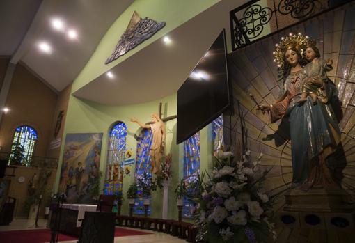 Altar de la parroquia de Santo Domingo Savio