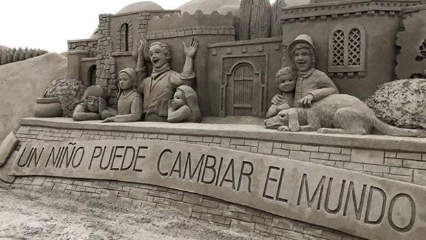 Belén de Arena de Las Canteras, Gran Canaria