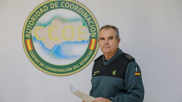 Manuel Contreras Santiago, Mando único operativo en el Estrecho