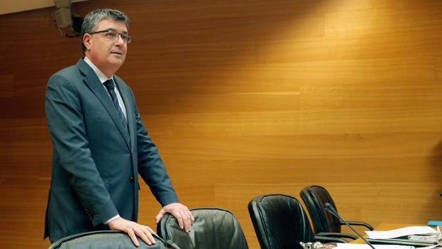 Enric Morera, en la comisión de investigación de las Cortes Valencianas sobre la financiación de PSPV y Bloc