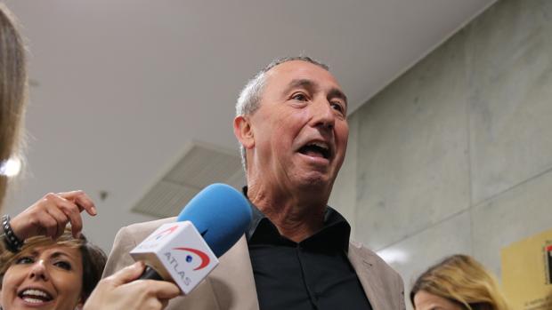 El portavoz de Compromís, Joan Baldoví, en mayo, en el Congreso de los diputados