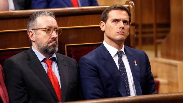 Juan Carlos Girauta y Albert Rivera