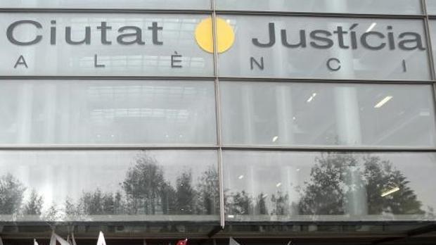 Edificio de la Ciudad de la Justicia en Valencia