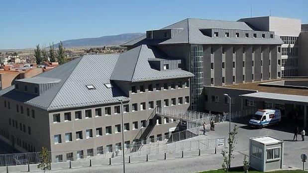 El complejo del Hospital General de Segovia