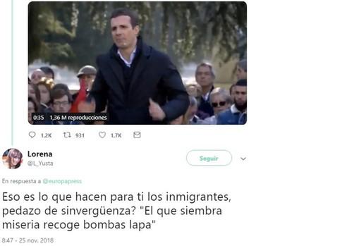 El PSOE no reprueba a la vocal de Carmena que amenazó a Casado con «bombas lapa»