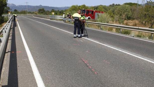 La Arrabassada, el punto más negro de las carreteras catalanas