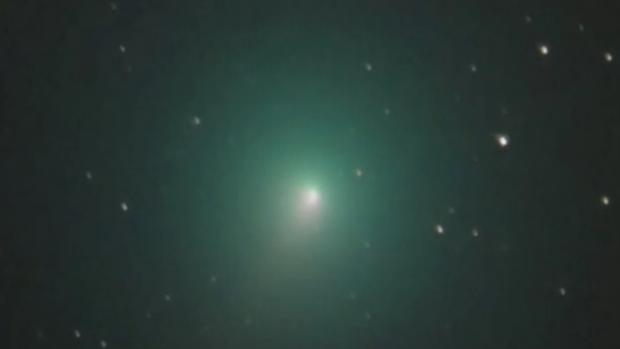 Cometa 46P visto en diciembre de 2018 desde Canarias por Burgos Sierra