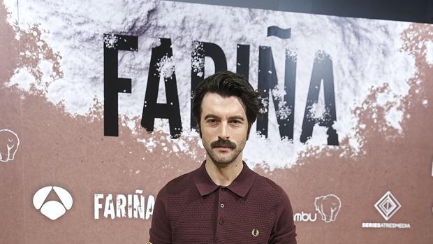 El actor Javier Rey, protagonista de la serie Fariña, que encarna a Sito Miñanco
