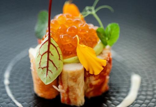 El cangrejo real es uno de los platos diseñados para los menús del InterContinental