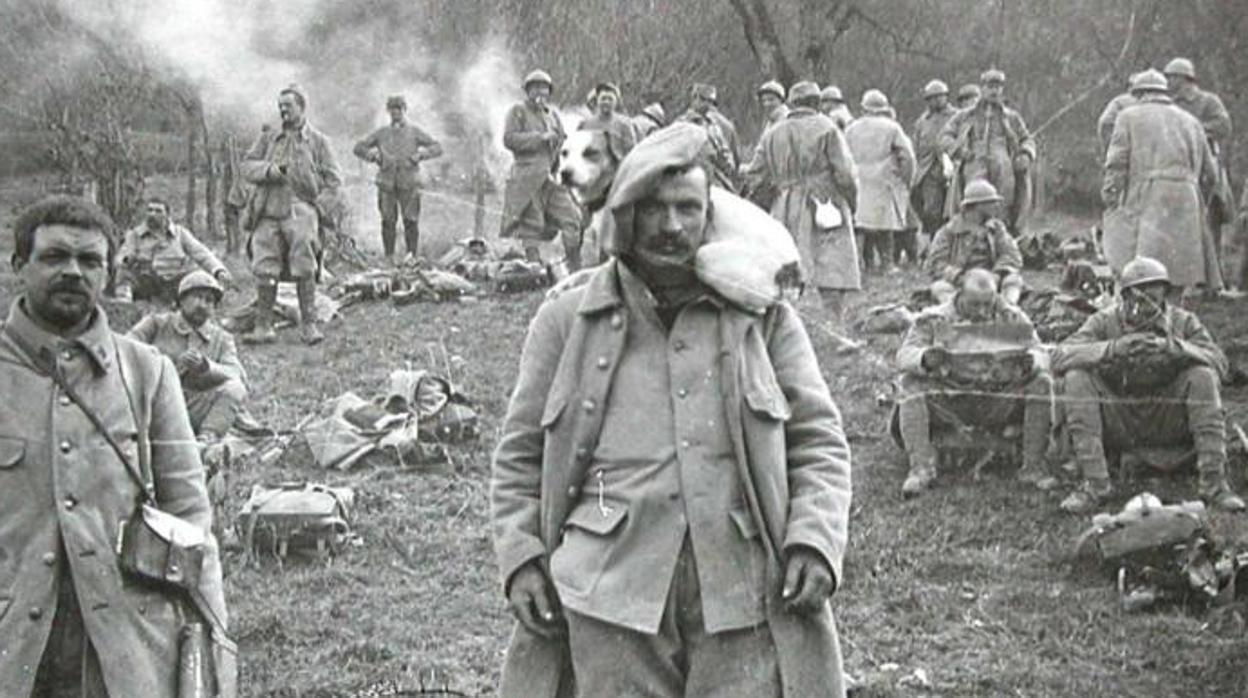 Los viajes a la I Guerra Mundial de Manuel Azaña