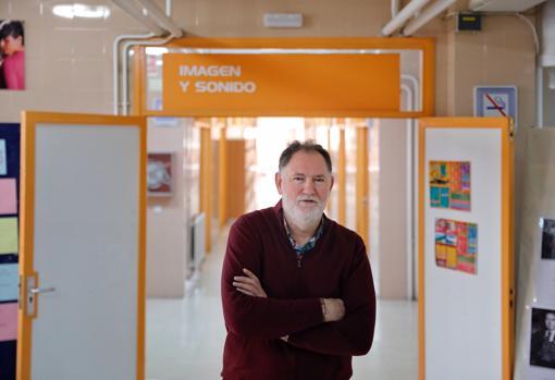 Francisco Tomillo, director del IES Vega de Prado (Valladolid)