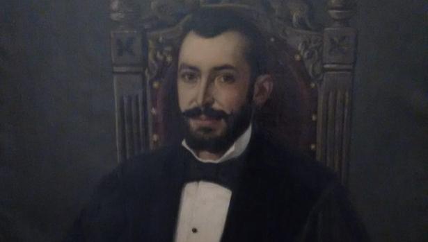 Retrato de Santos Lázaro Cava, togado