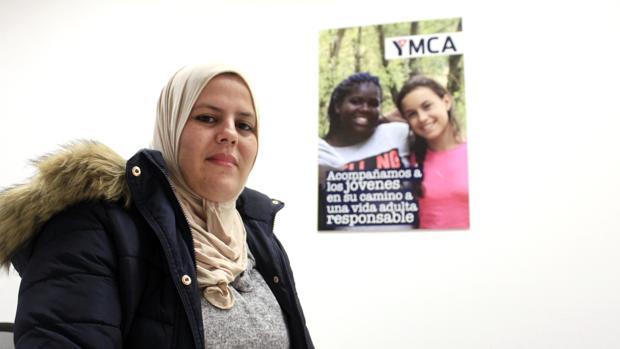 Saida, joven marroquí que participa en el Programa Integra de Intervención de YMCA