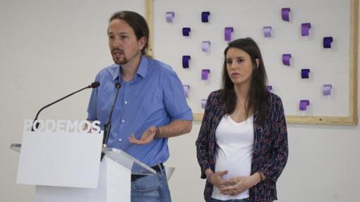 Iglesias y Montero anuncian la organización de un plebiscito sobre su liderazgo
