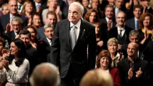 Martin Scorsese durante la ceremonia de los Premios Princesa de Asturias durante octubre de 2018
