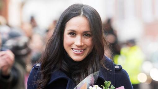 Meghan Markle, todavía prometida del príncipe Enrique, durante diciembre de 2017