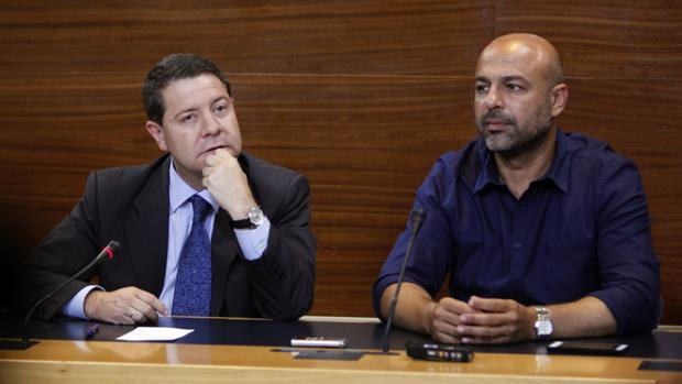 Emiliano García-Page y José García Molina, en una imagen de archivo