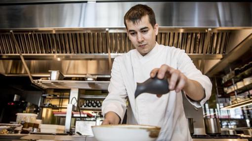 El cocinero Nanín Pérez en un reportaje para ABC