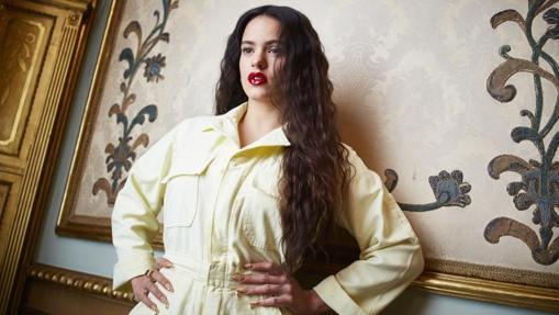 Rosalía en el Palacio de Santoña a pocos días de publicar su nuevo disco