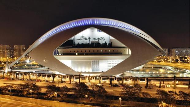 Imagen del Palau de les Arts de Valencia