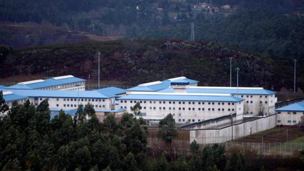 Vista aérea de la cárcel de A Lama, en la provincia de Pontevedra