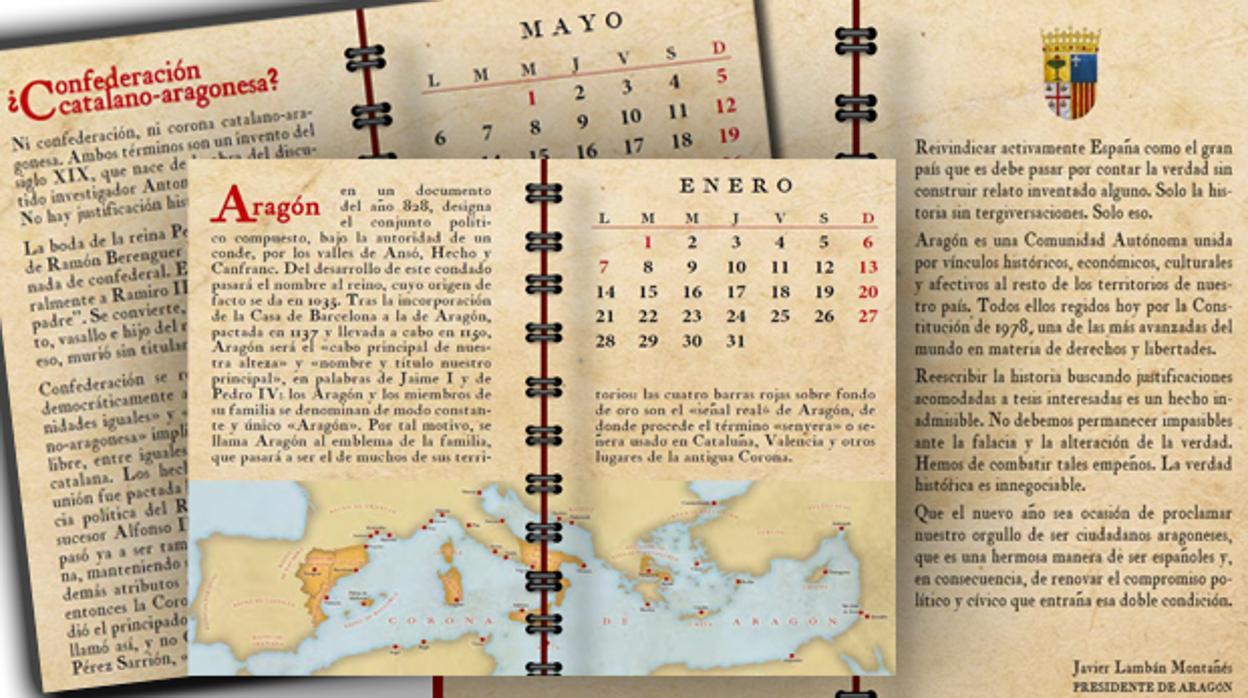 Calendario D.El Curioso Calendario Con El Que Lamban Ensena Historia A Los Politicos Independentistas
