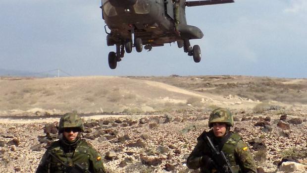 Integrantes del Batallón de Helicópteros de Maniobra, BHELMA VI