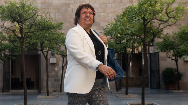 La exconsejera de Trabajo de Carles Puigdemont, Dolors Bassa