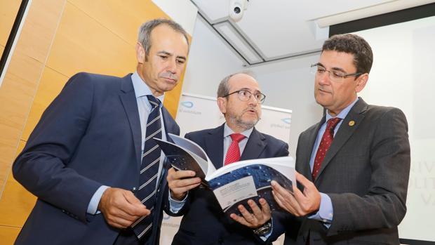 """Presentación del libro """"Agua y futuro"""", que hace balance de la colaboración entre la Universidad Politécnica de Valencia y Aguas de Valencia/Global Omnium"""