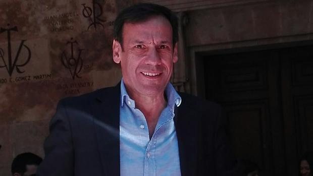 El catedrático Javier de Santiago
