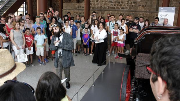 Visitas teatratalizadas, una de las actividades culturales que contribuyen al aumento de visitatantes