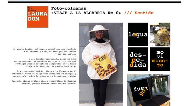 Catálogo de la última exposición de la artista Laura Domínguez