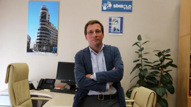 José Luis Martínez-Almeida, portavoz del PP en el Ayuntamiento de Madrid