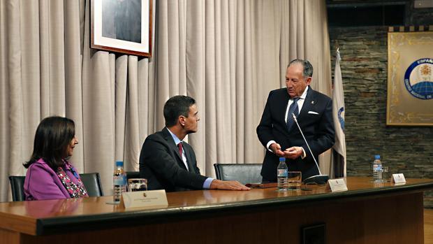 Imagen del encuentro difundida por La Moncloa