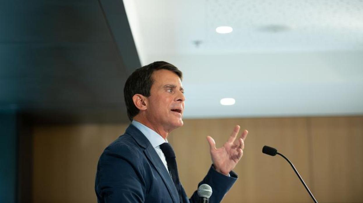Valls: «Cs explorará siempre todas las vías posibles para prescindir de la extrema derecha»