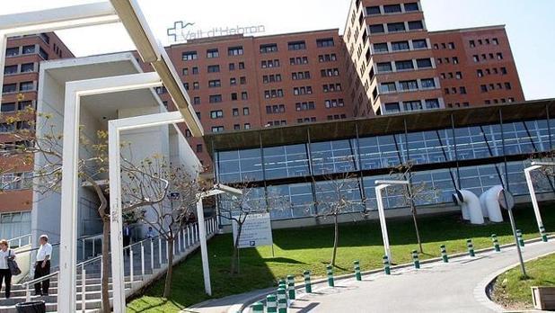 Hospital de Vall d'Hebron, donde permanece ingresado el bebé